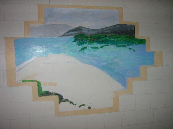Ma nouvelle fresque for Nouvelle peinture murale