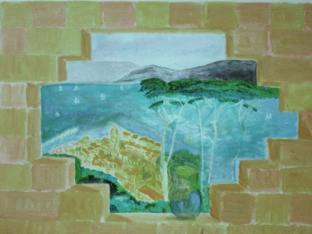 Mes peintures murales for Peinture acrylique murale